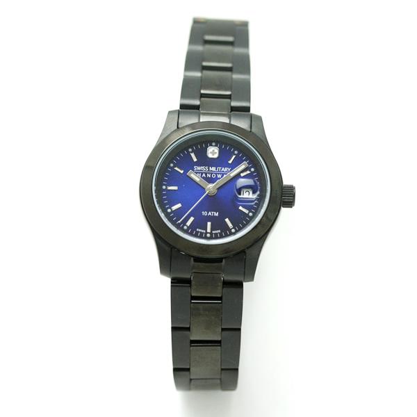 SWISS MILITARY エレガントブラック腕時計 ml243 詳細