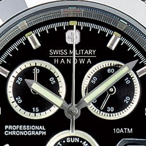 スイスミリタリー エレガントクロノ クロノグラフ