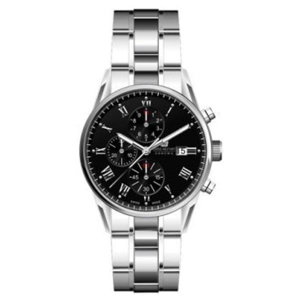 スイスミリタリー ローマン ml346 メンズ腕時計