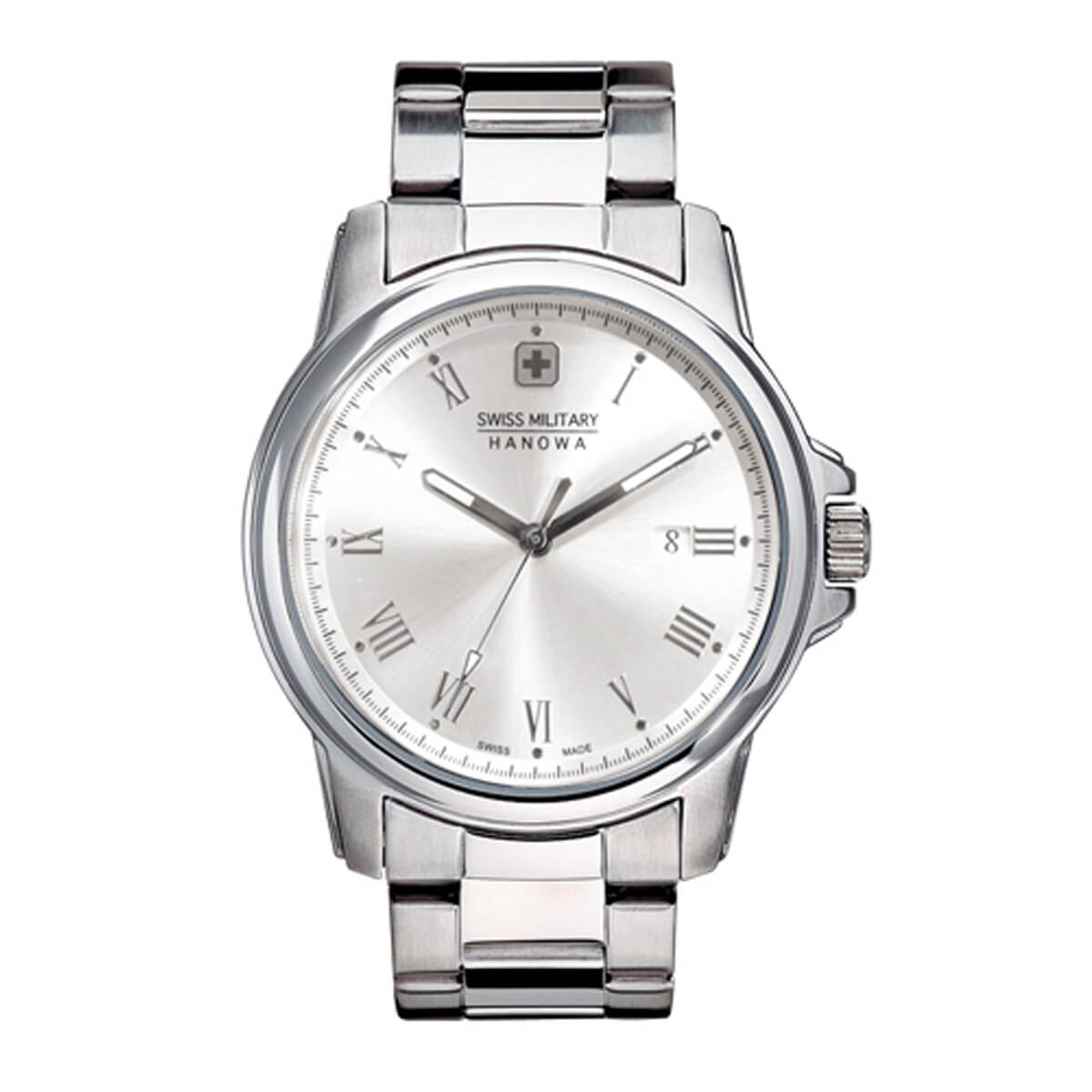 スイスミリタリー腕時計 ローマン(Roman) ml365 ホワイト