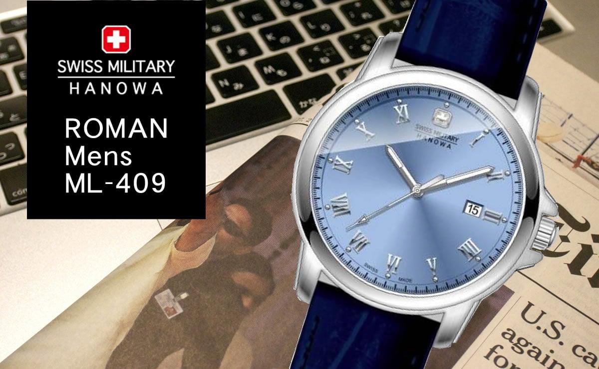 swiss military hanowa ROMAN ml409