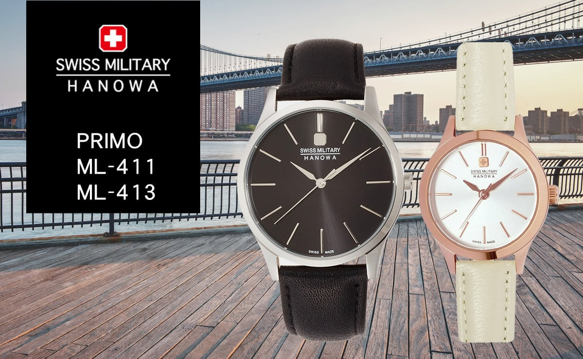 swiss military hanowa PRIMO ml411-ml413