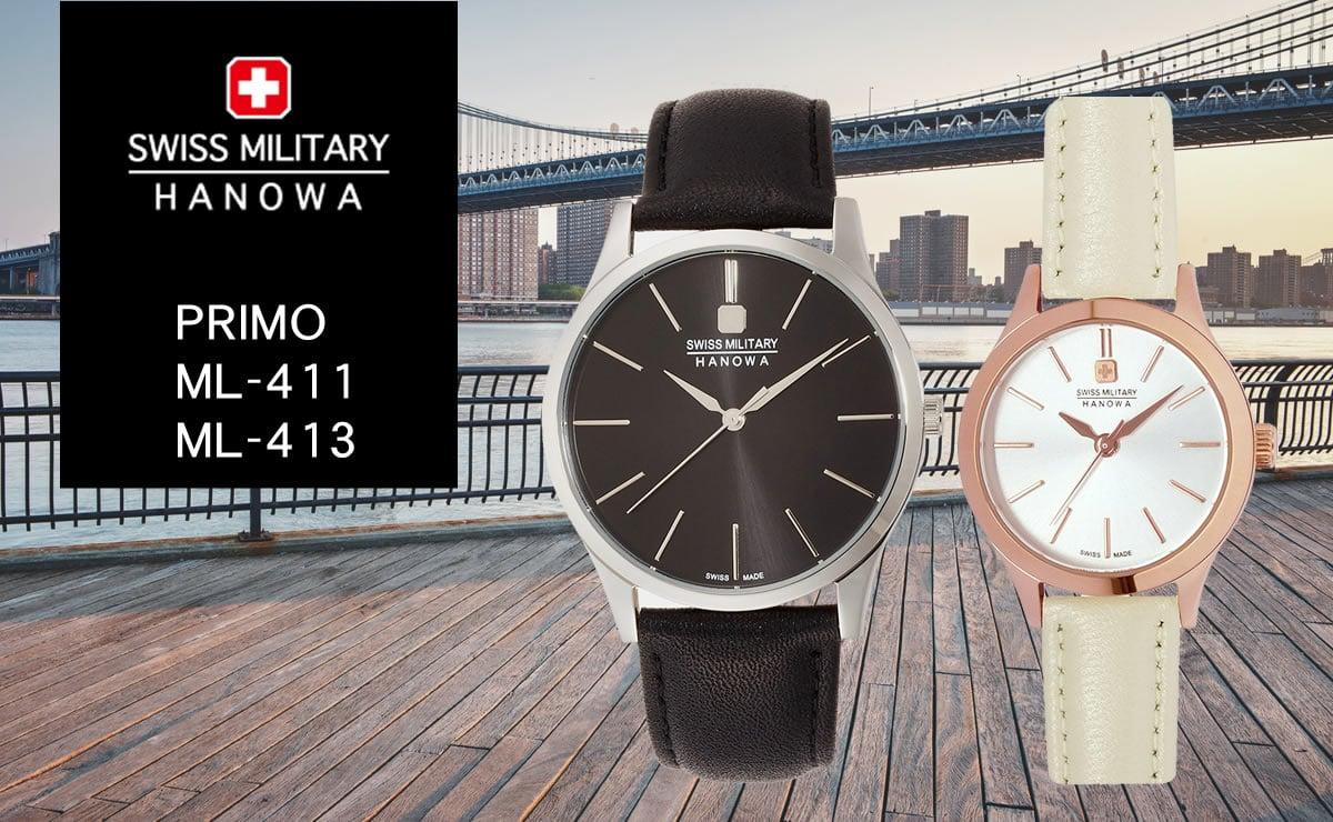 swiss military hanowa PRIMO ml411-ml413