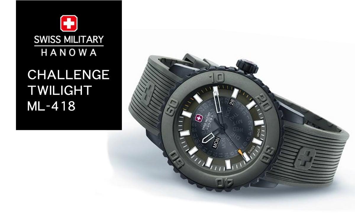 swiss military hanowa TWILIGHT ml418