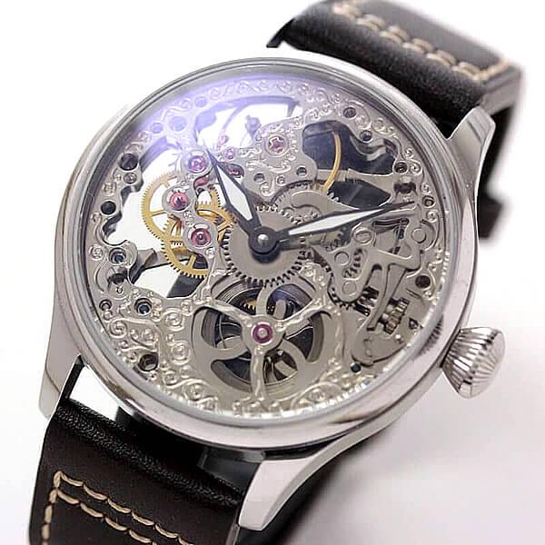 全面スケルトン 正美堂オリジナル腕時計