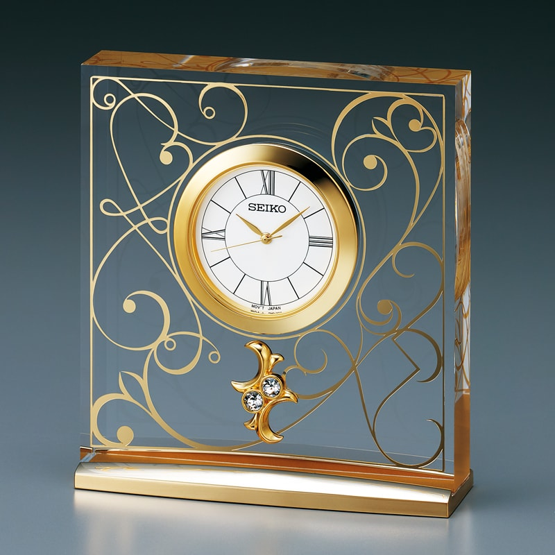 SEIKO セイコー スタンダード  クオーツ 置き時計 L'espoir(レスポワール) UF520G