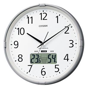CITIZEN シチズン 環境目安表示機能付電波掛け時計 インフォームナビS【4fy621019】