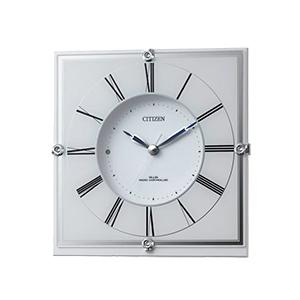 CITIZEN シチズン 木製 電波 掛け置き兼用時計 マリアージュ707 4RY707003