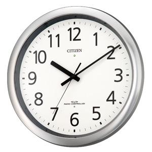 CITIZEN シチズン 電波掛け時計 パルウェーブM437【8my437019】