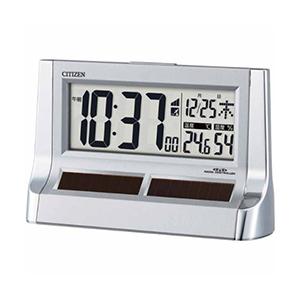 CITIZEN シチズン デジタル 電波 置き時計 パルデジットソーラーR128 8RZ128019