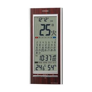 CITIZEN シチズン デジタル 電波 掛け置き兼用時計 パルデジットカレンダー142 8RZ142023