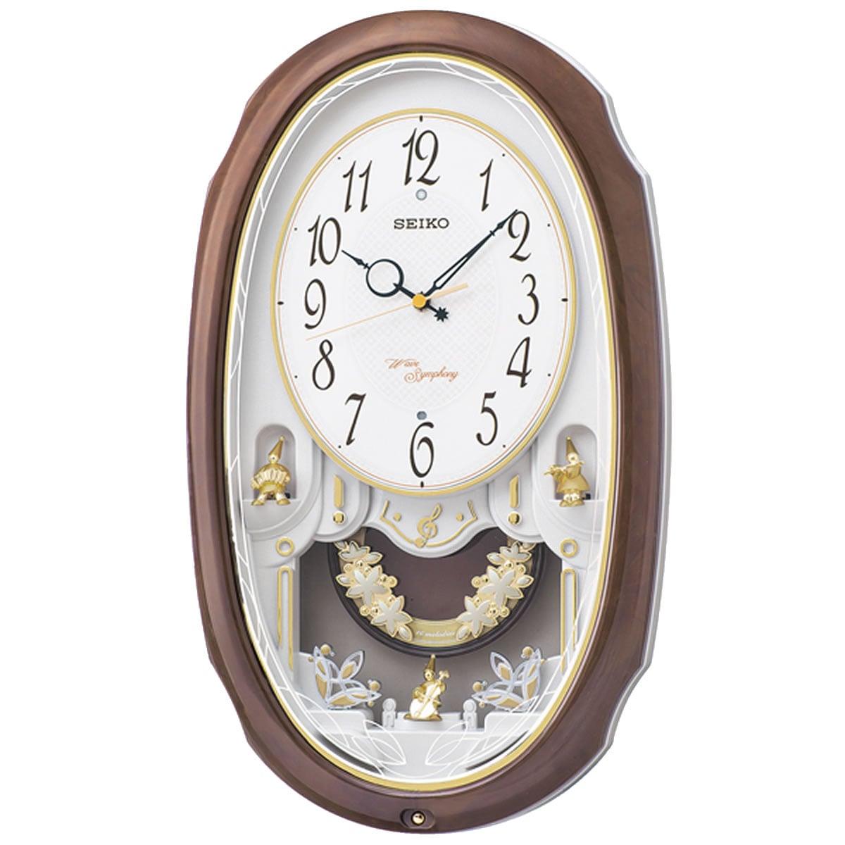 SEIKO セイコー 電波アミューズ掛け時計 ウェーブシンフォニー 【AM260A】