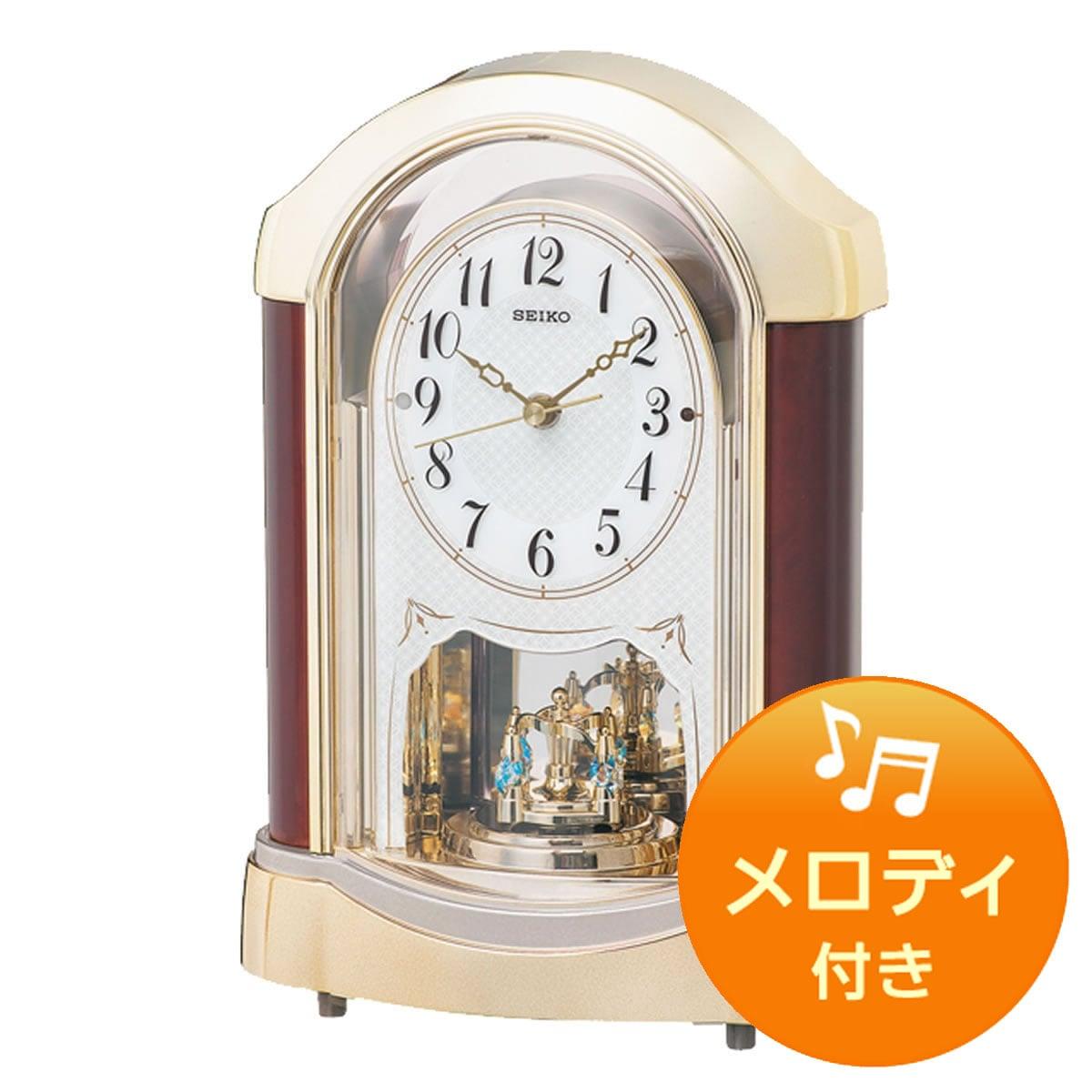 SEIKO セイコー 電波アミューズ置き時計 BY237G