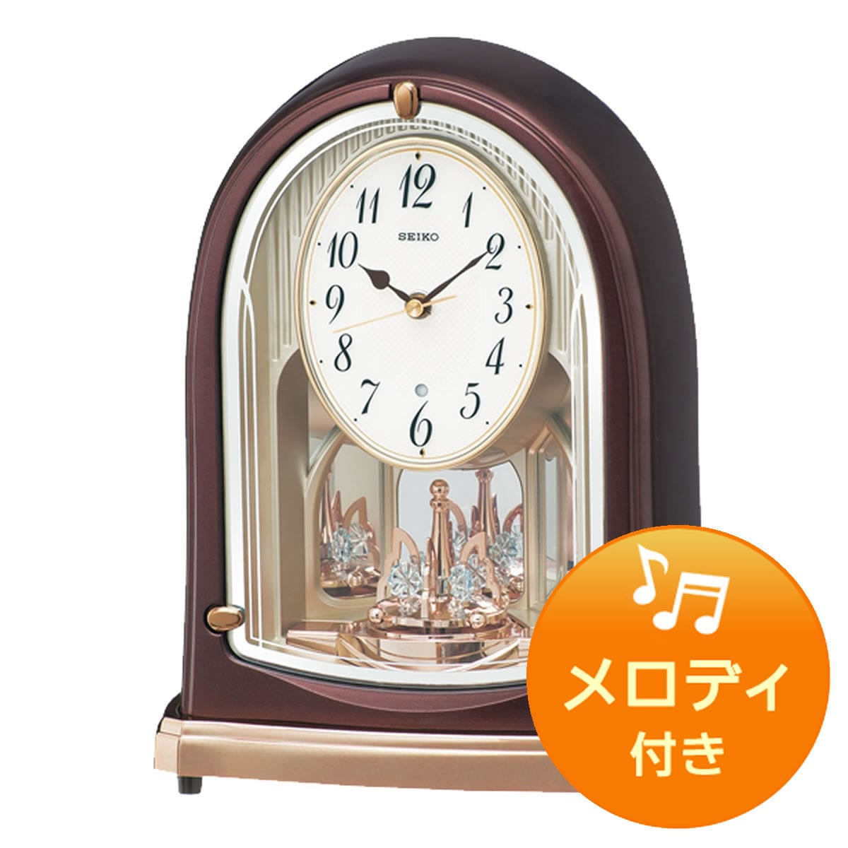 SEIKO セイコー 電波アミューズ置き時計 BY239B