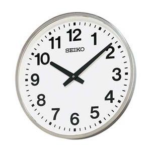 SEIKO セイコー 屋外用防雨型掛け時計【グリーン購入法適応商品】【KH411S】