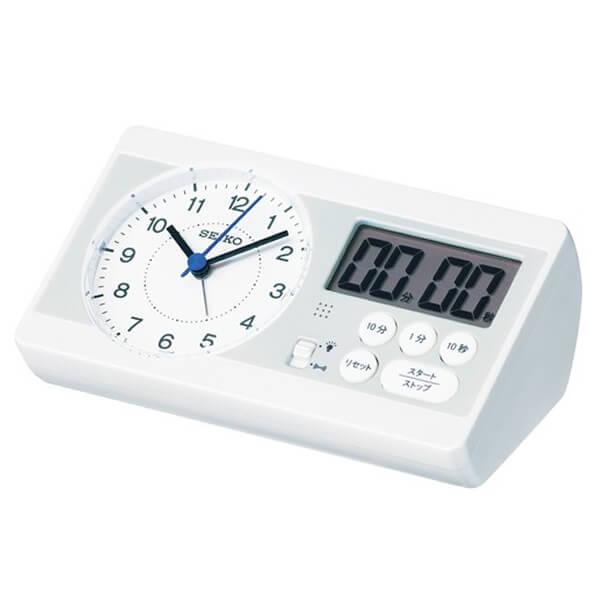 SEIKO セイコー 学習用 目覚まし時計 スタディタイム KR893W
