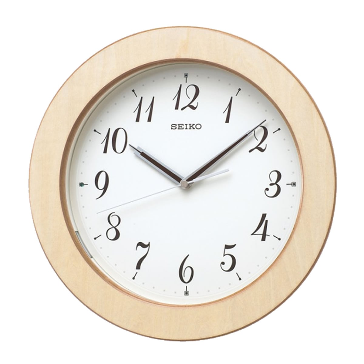 SEIKO(セイコー)木枠 夜光 電波掛け時計 KX216A