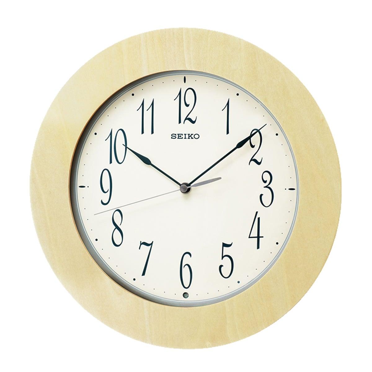 SEIKO(セイコー)スタンダード 木枠 電波掛け時計 KX219A