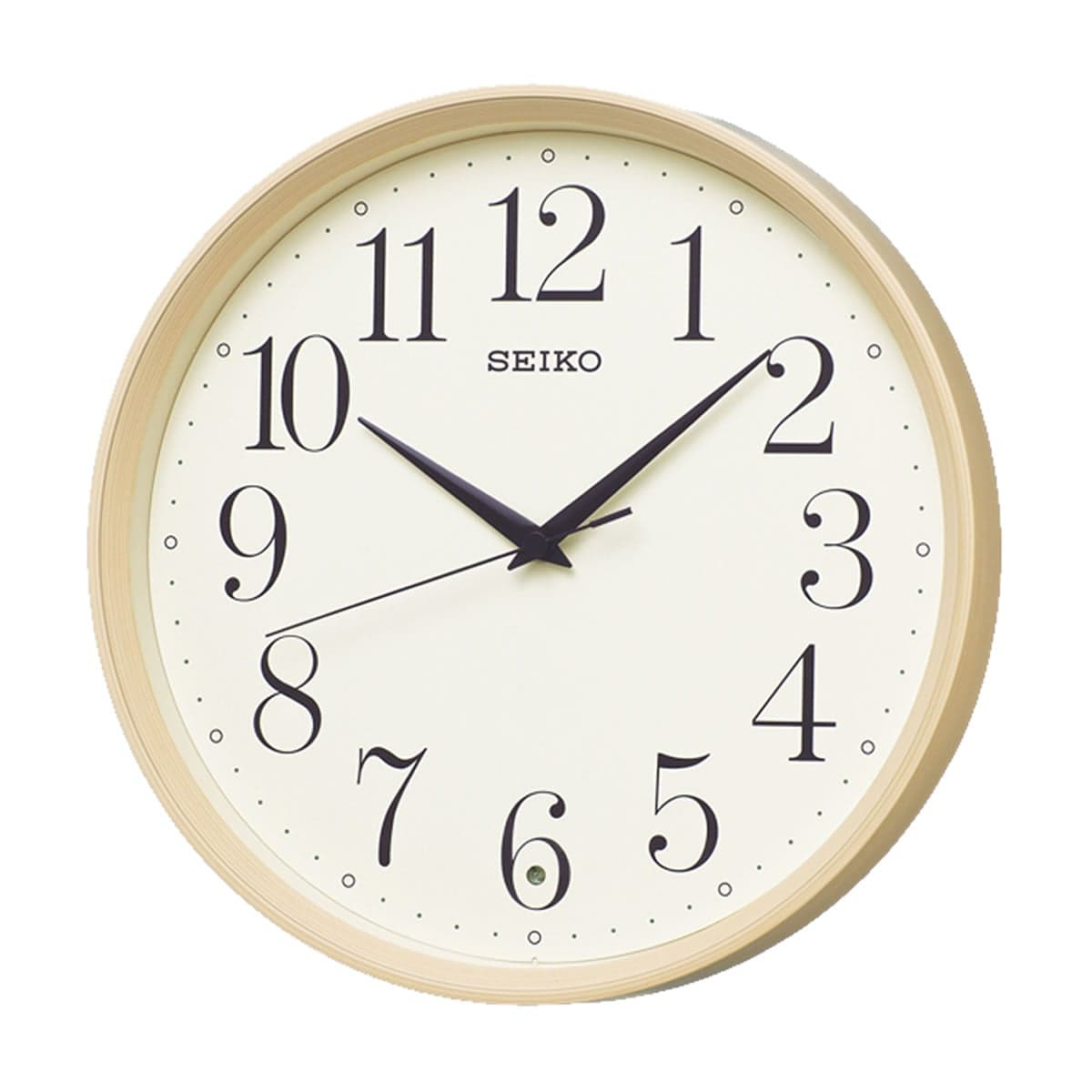 SEIKO(セイコー)スタンダード 電波掛け時計 KX222A 薄茶