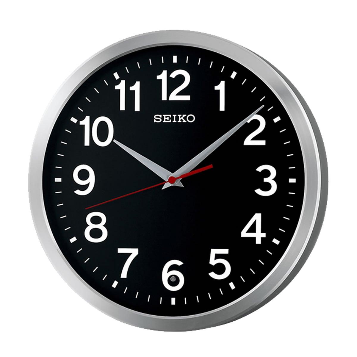 SEIKO(セイコー)オフィスタイプ 電波掛け時計 KX227K ブラック