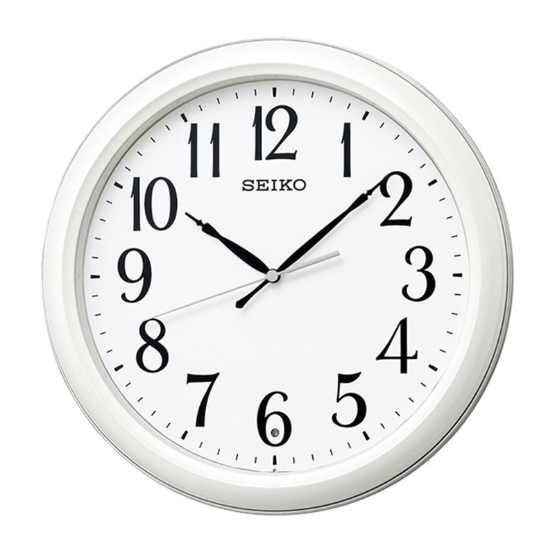 SEIKO セイコー スタンダード 電波掛け時計 KX234W 白パール
