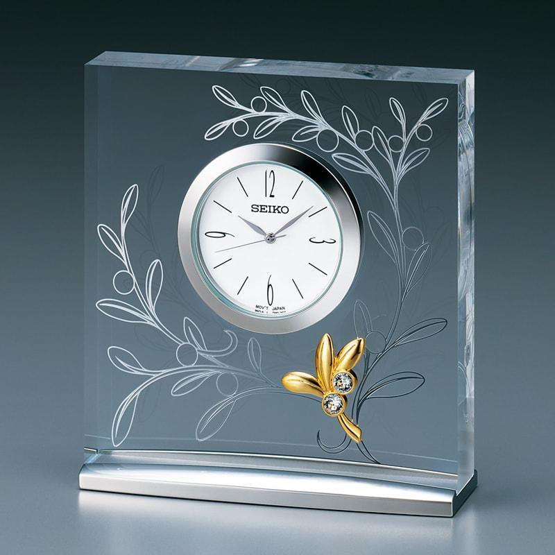 SEIKO セイコー スタンダード  クオーツ 置き時計 L'espoir(レスポワール) UF520S