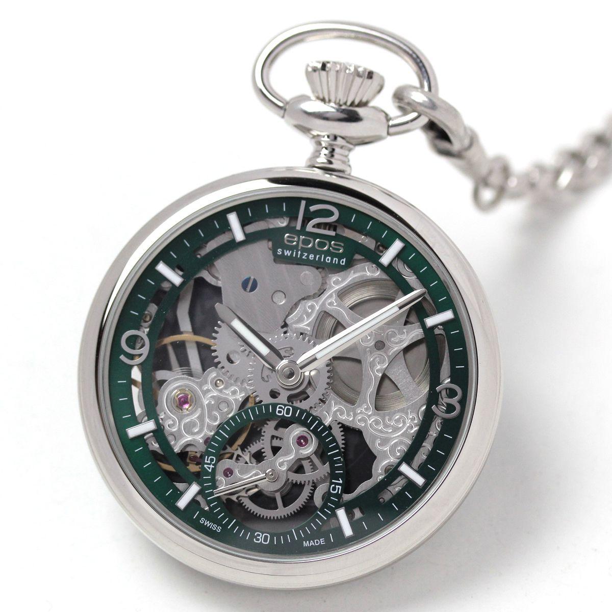 エポス(EPOS) フルスケルトン懐中時計2003AGR