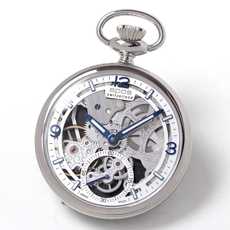 エポス(EPOS) フルスケルトン懐中時計2003ASL