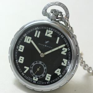 アエロ(AERO)/スクリューバック/50685CH06/懐中時計
