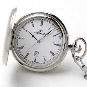 アエロ(AERO)/クォーツ式/24608PD01/懐中時計