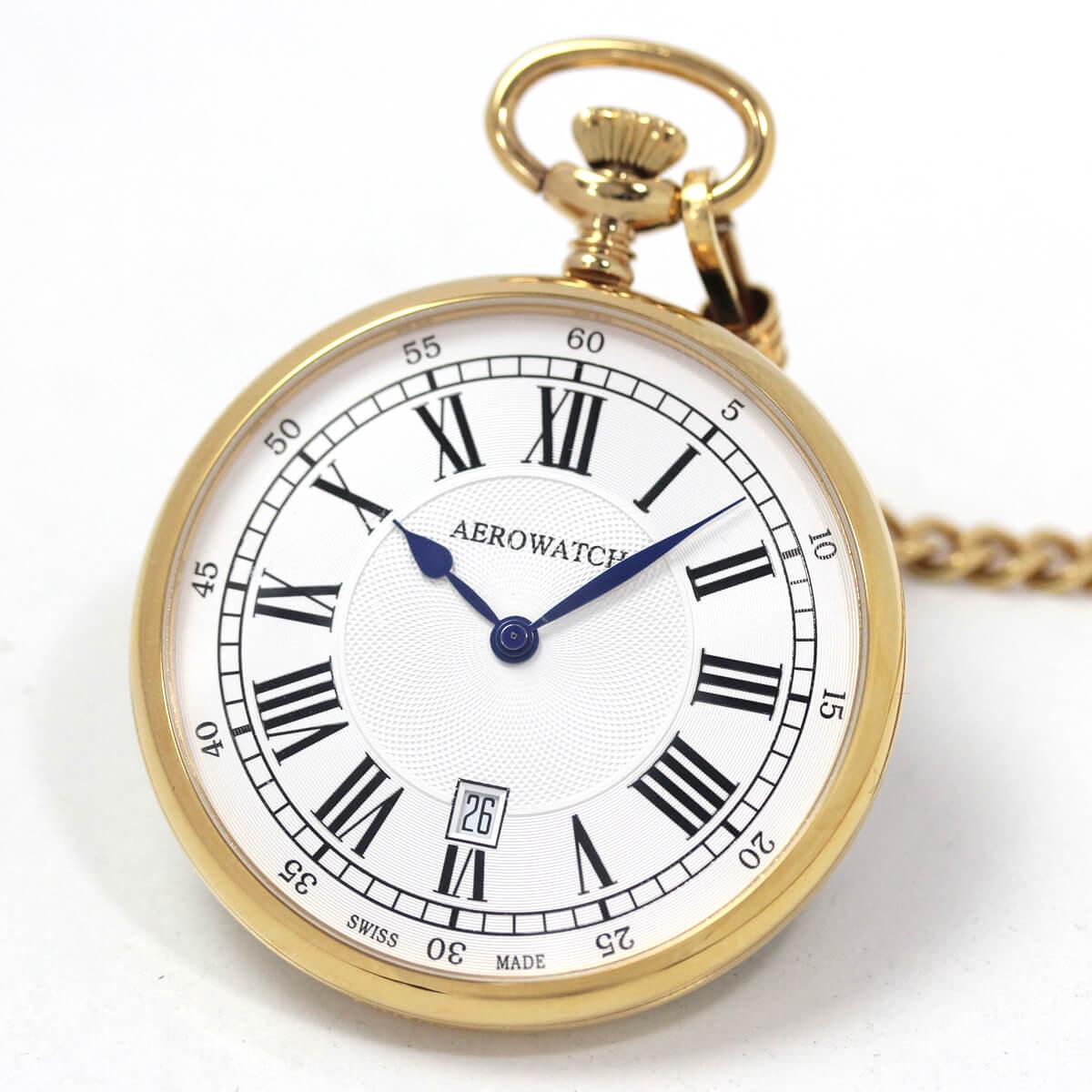 アエロ(AERO)/クォーツ式/25611J201/懐中時計