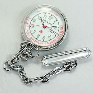 アエロ(AERO)ナースウォッチ(看護士用時計) 32825PD02 ホワイト/懐中時計