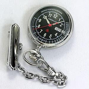 アエロ(AERO)ナースウォッチ(看護士用時計) 32825PD03 ブラック