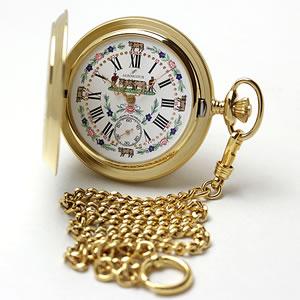 アエロ(AERO)手巻き式 55626J501 懐中時計