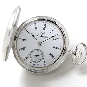 アエロ(AERO)/銀仕上げ/55645AG01/懐中時計