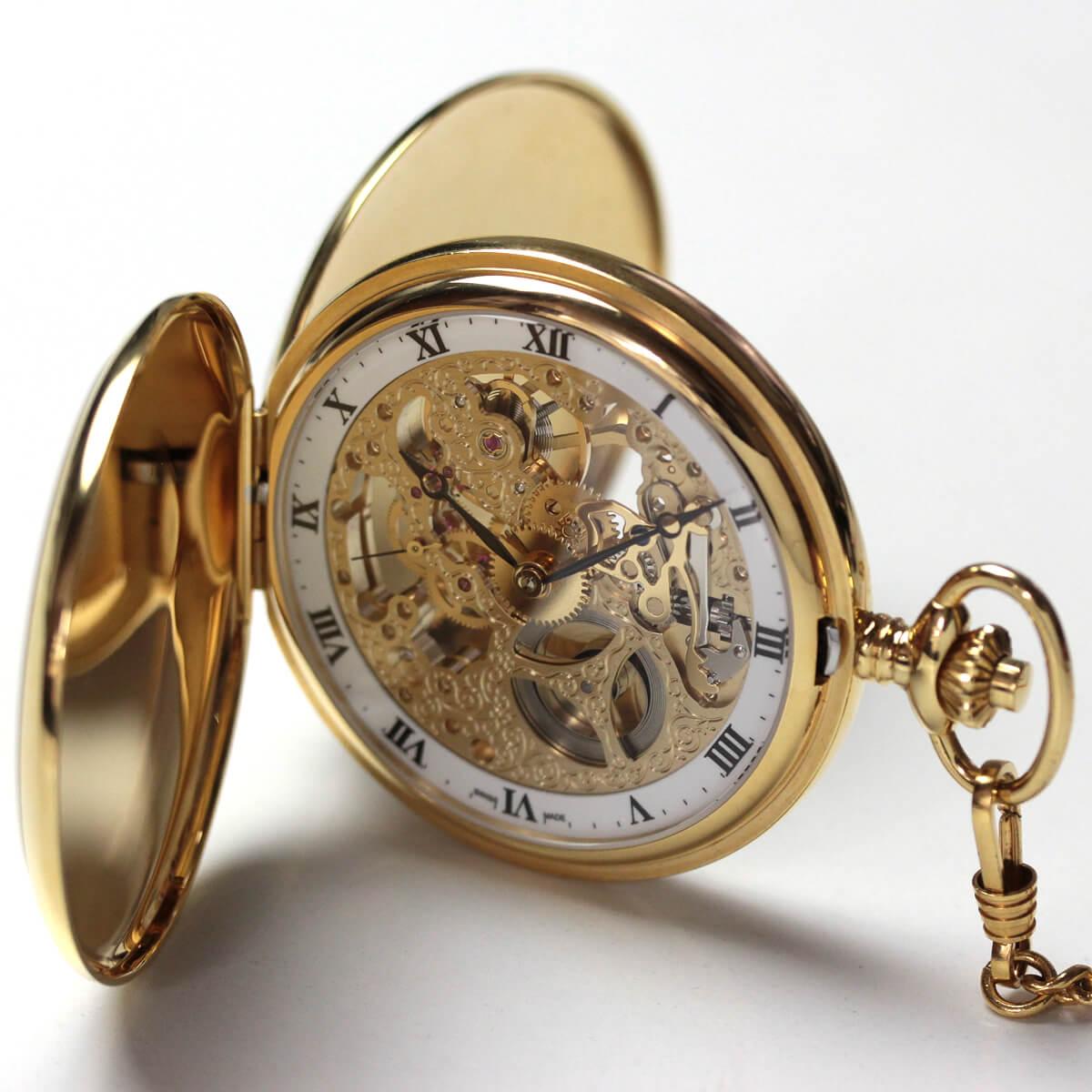 アエロ(AERO)/スケルトン/56819J501/懐中時計