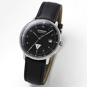 JUNKERS/ユンカース/Bauhaus(バウハウス)/Datum Date/6046-2QZ-203538/クォーツ/腕時計