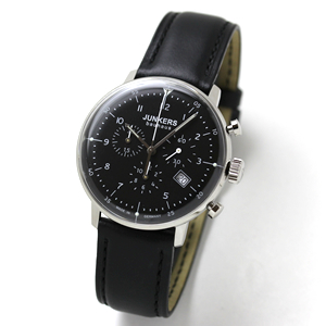 JUNKERS Bauhaus(ユンカース・バウハウス)クロノグラフ クォーツ 6086-2QZ-203546/腕時計