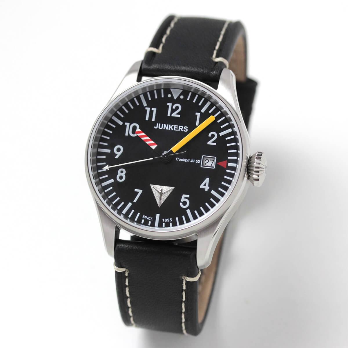 JUNKERS(ユンカース)/Cockpit JU52/クォーツ/6144-3qz-203552/腕時計