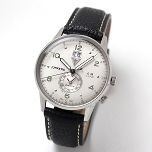 JUNKERS(ユンカース)/クォーツ デュアルタイム G38/6940-4QZ/腕時計