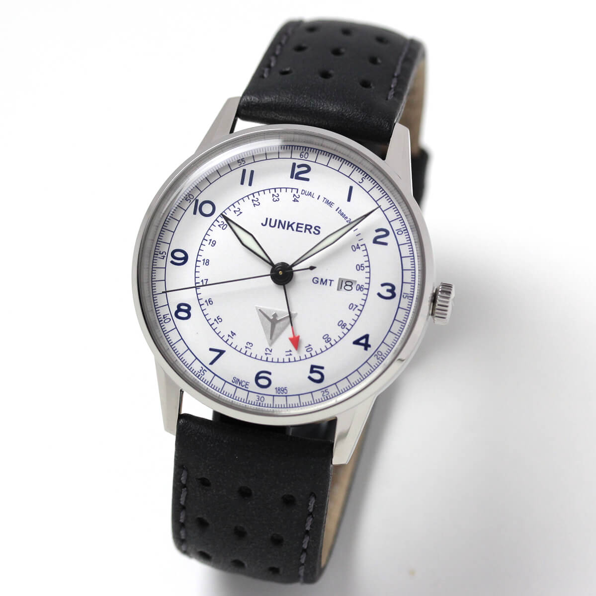 JUNKERS(ユンカース)/クォーツ GMT G38/6946-3QZ/腕時計