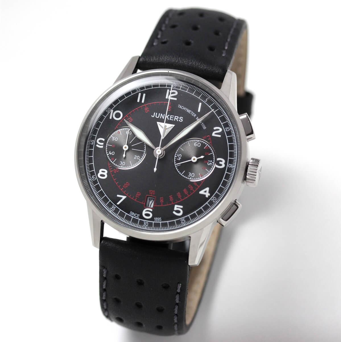 JUNKERS(ユンカース)/クォーツ クロノグラフ G38/6970-2QZ/腕時計
