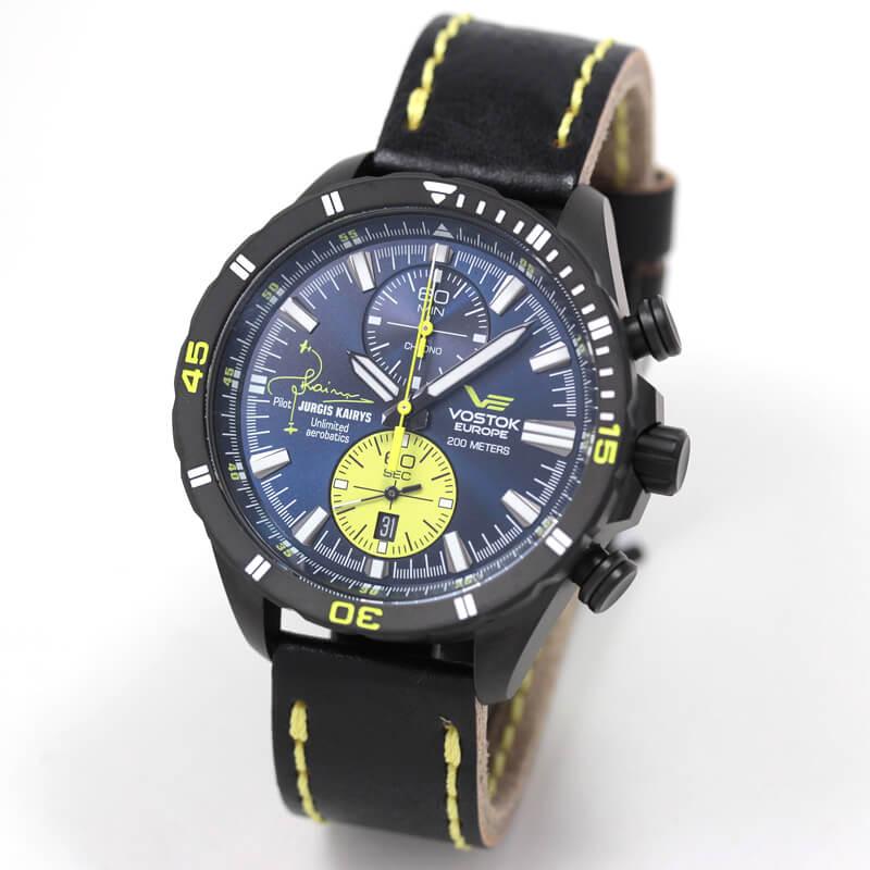VOSTOK EUROPE/ボストークヨーロッパ/ユルギス・カイリスモデル/6S11-320J362 腕時計