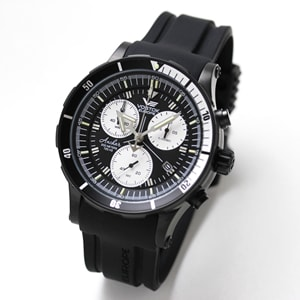 VOSTOK EUROPE(ボストーク・ヨーロッパ)/ANCHAR(アンチャール)/世界限定モデル/クロノグラフ/クォーツ 6S30-5104184 腕時計