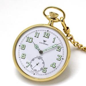 CATOREX(カトレックス)/懐中時計/手巻き式/オープンフェイス/ゴールドカラー/1832.6