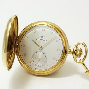 アエロ/AERO/ハンターケース/ゴールドカラー/55631J204/懐中時計