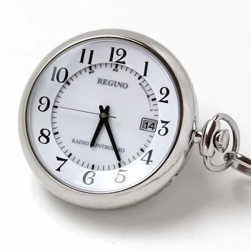 シチズン レグノ ソーラー電波  KL7-914-11 懐中時計