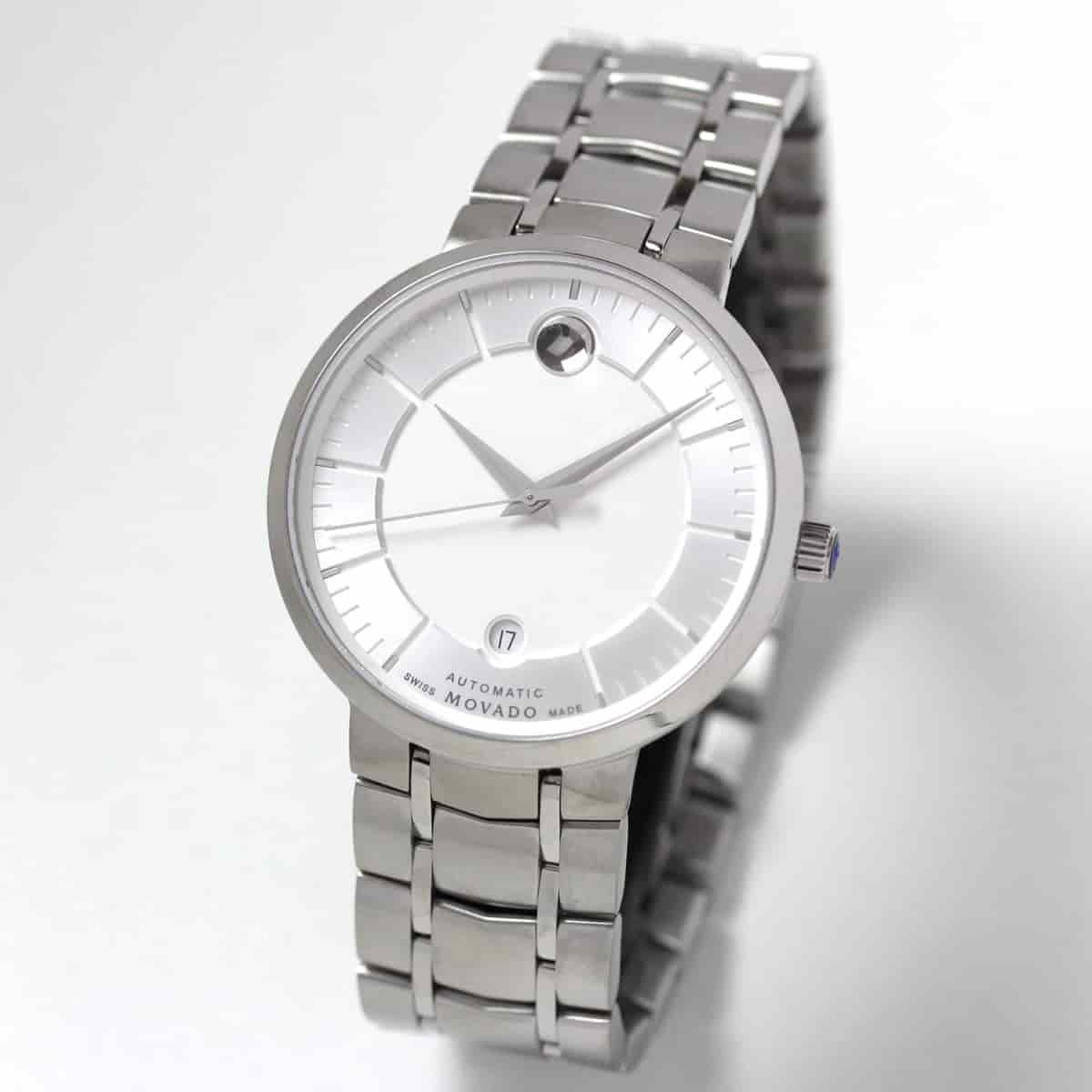 在庫セール 1点限り 72,000円OFF! MOVADO(モバード)1881オートマティック M0606915.8105S/腕時計