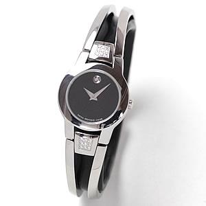MOVADO(モバード)AMOROSA(アムローサ)女性用腕時計 M84.122.E4S.A 0.119ctダイヤモンド/腕時計