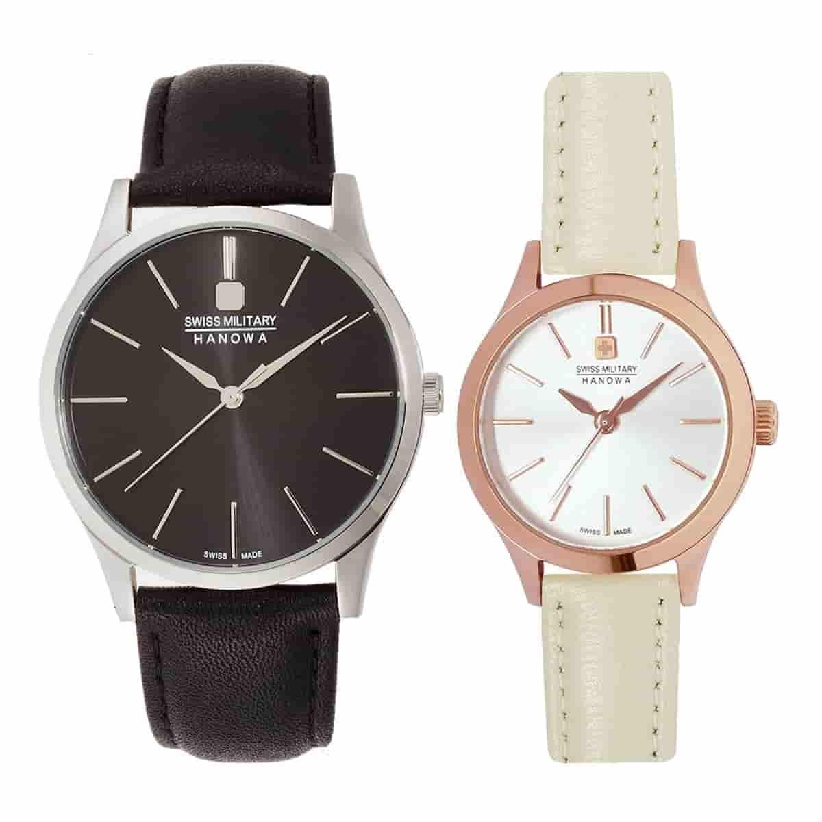 スイスミリタリー腕時計 PRIMO(プリモ) ペアウォッチ ML411-ML413